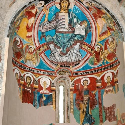 Pantocrator Esglesia Sant Vicent de Taüll