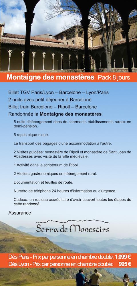 RANDONNÉE PYRENEES CATALANS - Montaigne des monastères