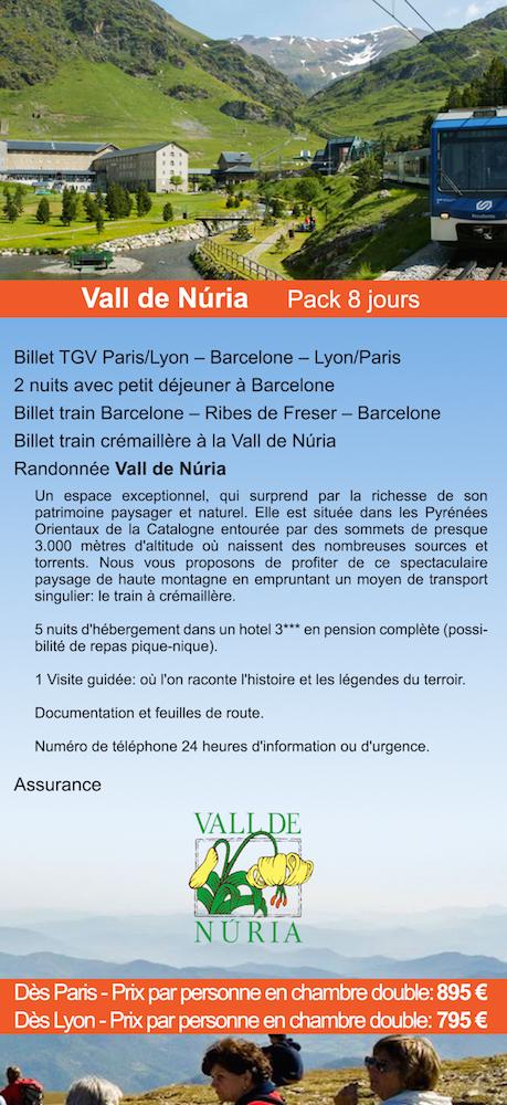RANDONNÉE au PYRENEES CATALANS - Vall de Nuria